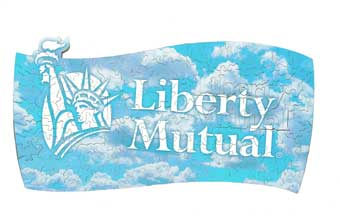 wooden jigsaw puzzle liberty mutual